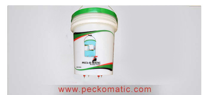 Peckomatic Pail Holder